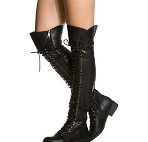 Mark and maddux thigh high boots